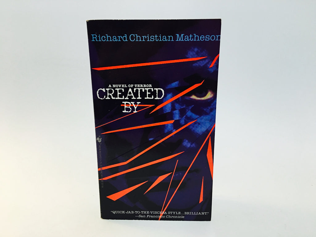 Created By - Richard Christian Matheson 1994 Paperback - LaCreeperie