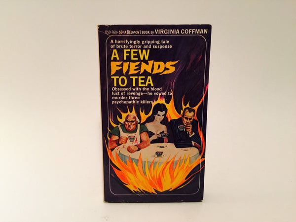 A Few Fiends To Tea by Virginia Coffman 1967 Paperback - LaCreeperie