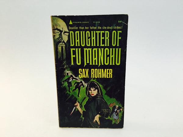 Daughter of Fu Manchu by Sax Rohmer 1964 Paperback - LaCreeperie