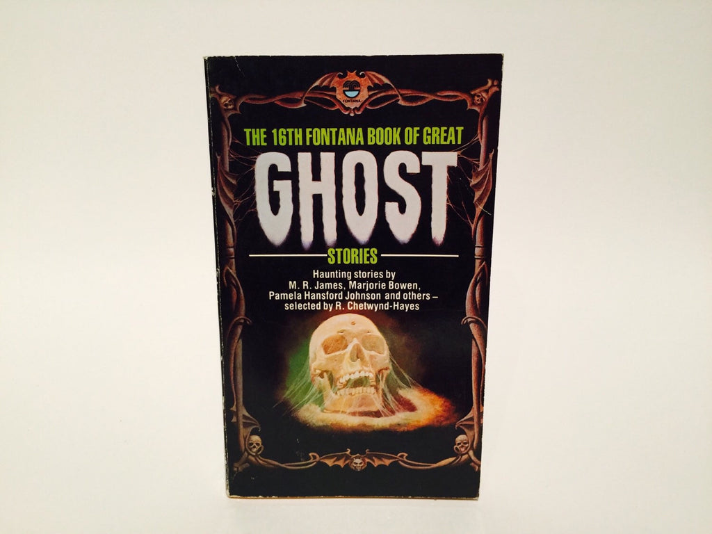 The 16th Fontana Book of Great Ghost Stories 1980 UK Edition Paperback Anthology - LaCreeperie