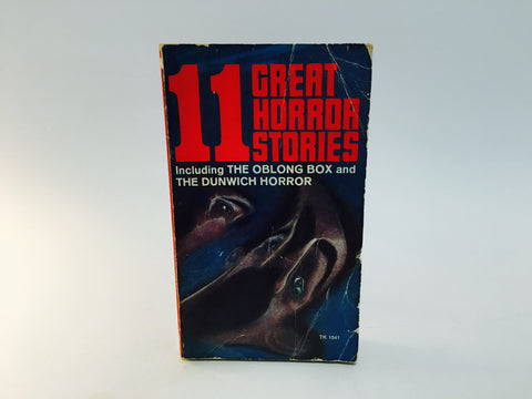 11 Great Horror Stories Anthology 1967 Paperback Poe H P Lovecraft