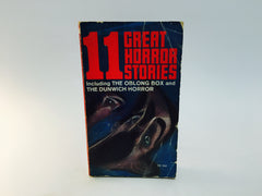 11 Great Horror Stories Anthology 1967 Paperback Poe H P Lovecraft - LaCreeperie