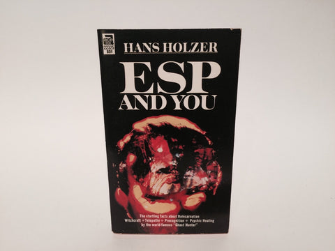 ESP and You by Hans Holzer 1966 Paperback