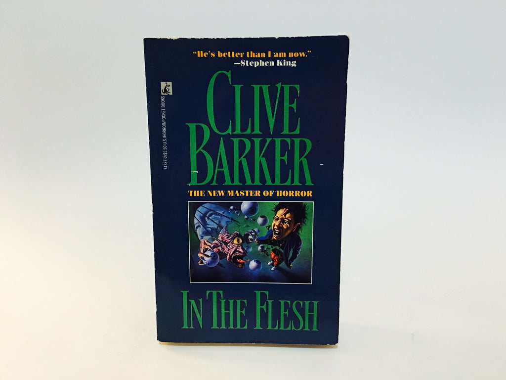 In The Flesh by Clive Barker 1988 Paperback - LaCreeperie