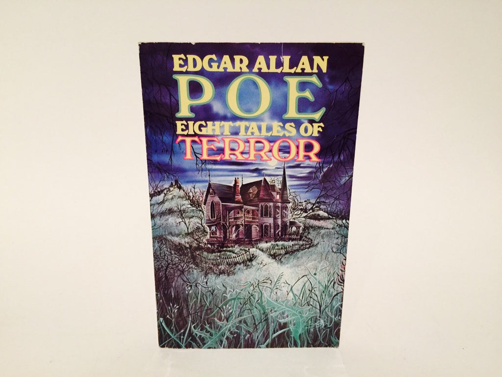 Eight Tales of Terror by Edgar Allan Poe 1978 Paperback Anthology - LaCreeperie