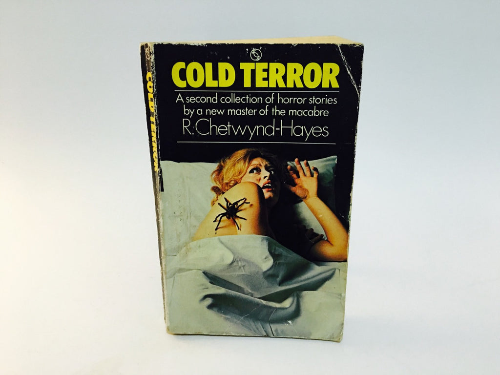 Cold Terror by R. Chetwynd-Hayes 1973 UK Edition Paperback Anthology - LaCreeperie