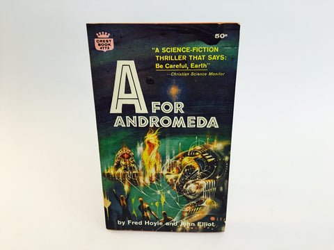 A For Andromeda by Fred Hoyle & John Elliot 1964 Paperback