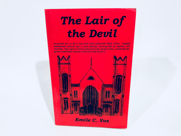 The Lair of the Devil by Emile C. Vos 2000 Softcover
