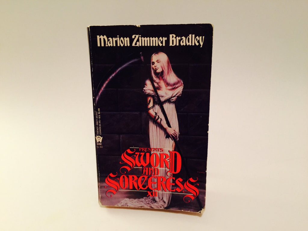 Sword and Sorceress XII Edited by Marion Zimmer Bradley 1995 Paperback Anthology - LaCreeperie