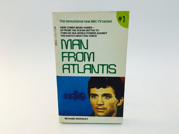 Man From Atlantis #1 TV Series Novelization 1977 Paperback - LaCreeperie