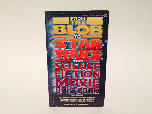 The Science Fiction Movie Quiz Book 1977 Paperback - LaCreeperie