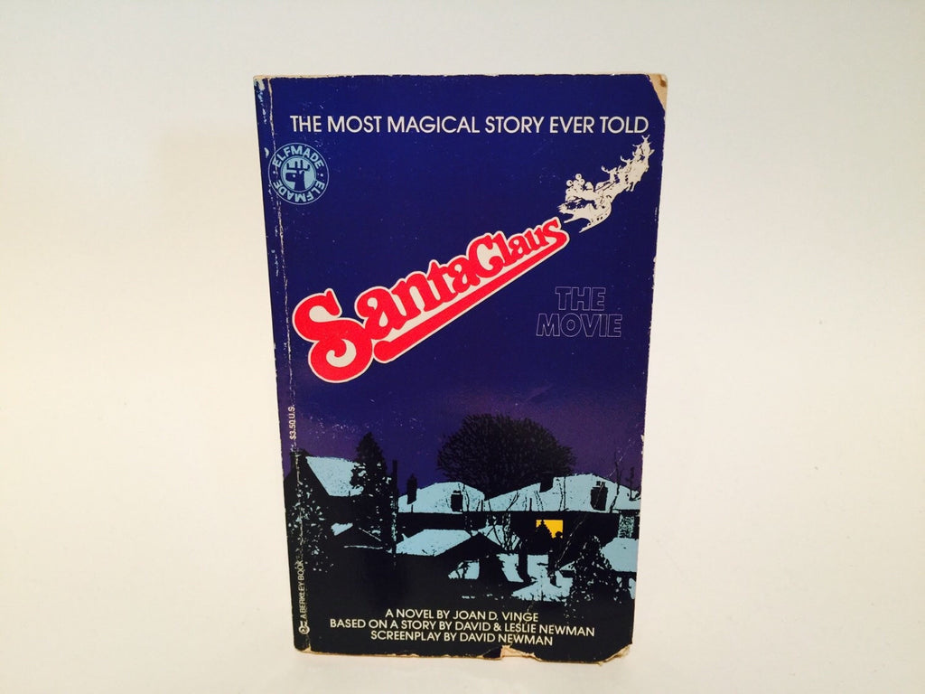 Santa Claus - The Movie Film Novelization 1985 Paperback - LaCreeperie