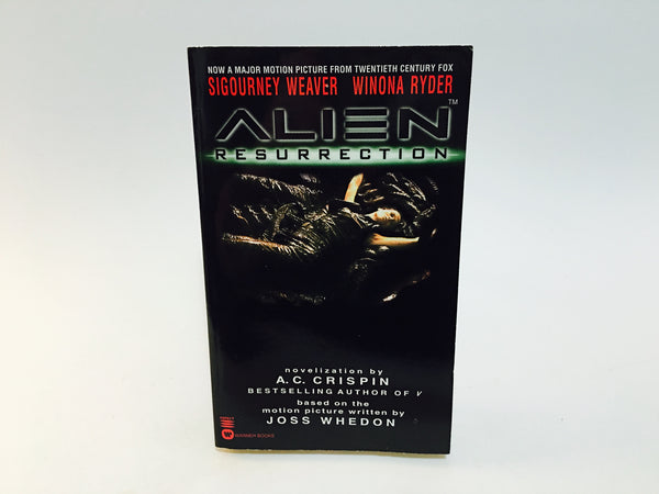 Alien Resurrection Film Novelization 1997 First Edition Paperback - LaCreeperie