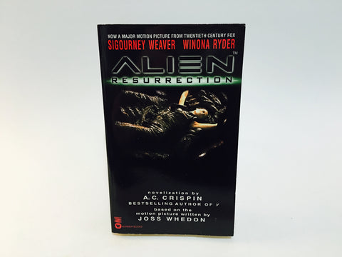 Alien Resurrection Film Novelization 1997 First Edition Paperback