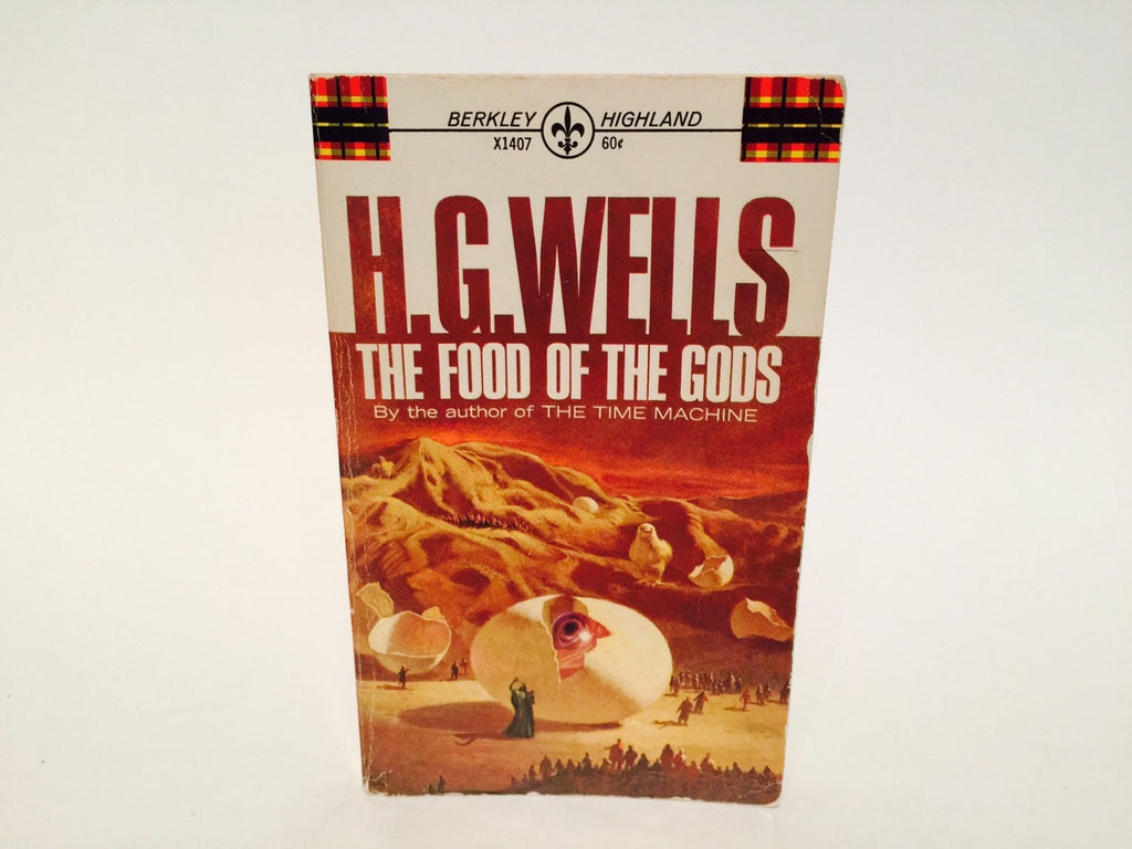 The Food of the Gods - H.G. Wells 1967 Edition Paperback Classics - LaCreeperie