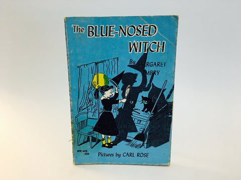 The Blue-Nosed Witch by Margaret Embry 1967 Softcover