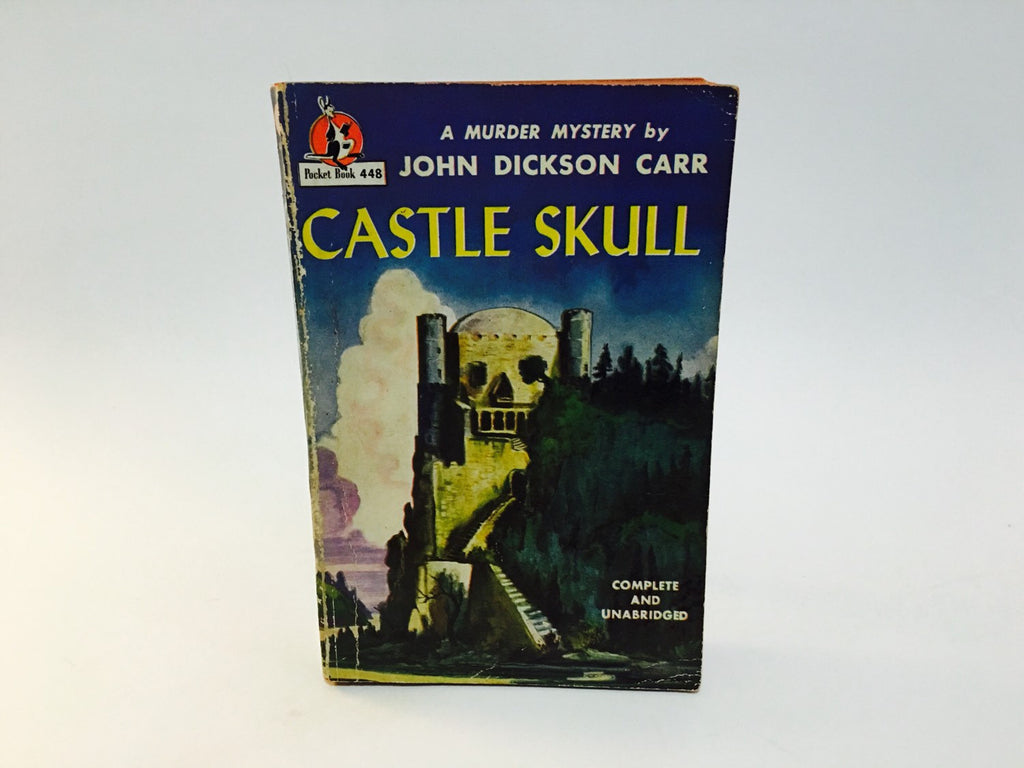 Castle Skull by John Dickson Carr 1947 Edition Paperback - LaCreeperie