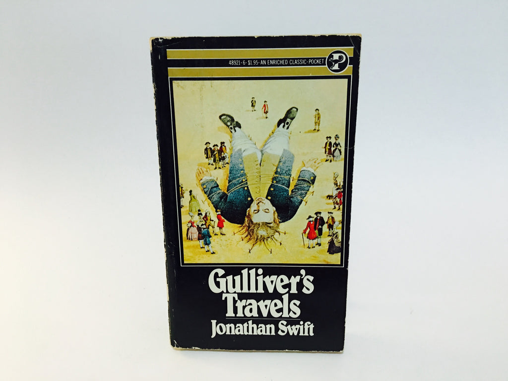 Gulliver's Travels by Jonathan Swift 1972 Paperback - LaCreeperie