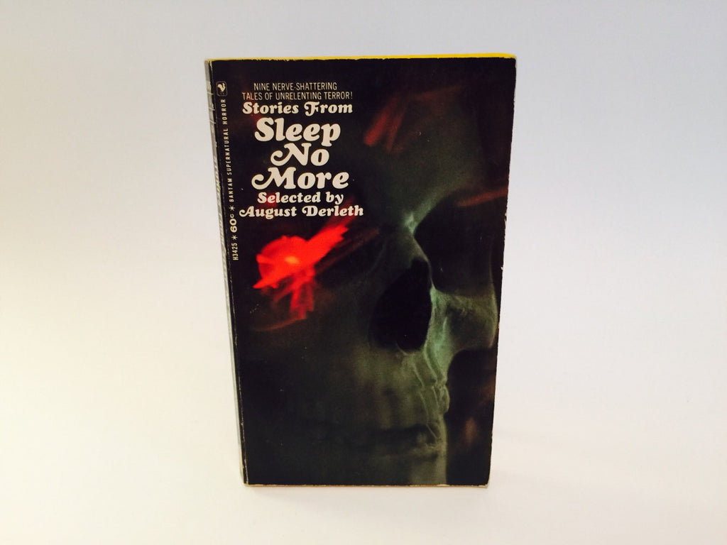 Stories from Sleep No More by August Derleth 1967 Paperback Anthology - LaCreeperie