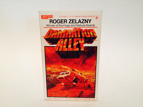 Damnation Alley by Roger Zelazny 1977 Movie Tie-In Edition Paperback