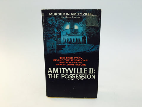 Amityville II: The Possession by Hans Holzer 1982 Movie Tie-In Edition Paperback