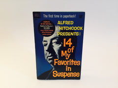Alfred Hitchcock Presents: 14 Of My Favorites in Suspense 1963 Paperback Anthology - LaCreeperie