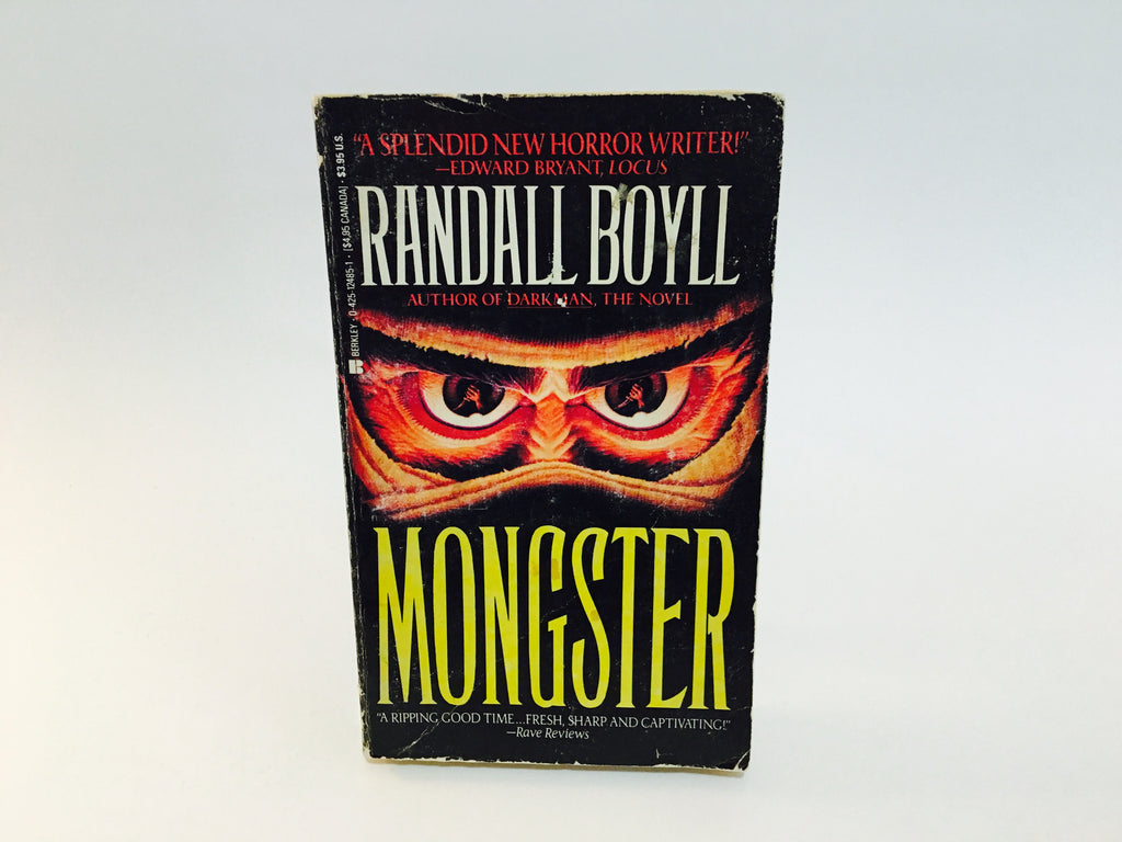 Mongster by Randall Boyll 1991 First Edition Paperback - LaCreeperie