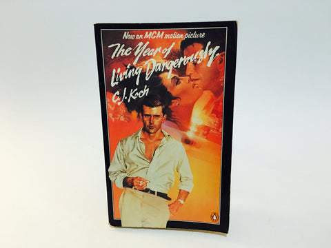 The Year of Living Dangerously by C.J. Koch 1983 Movie Tie-In UK Edition Paperback