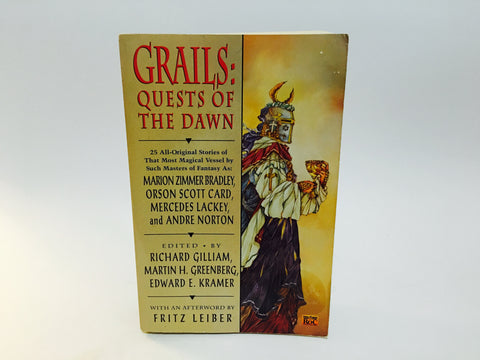 Grails: Quests of the Dawn 1994 Softcover Anthology