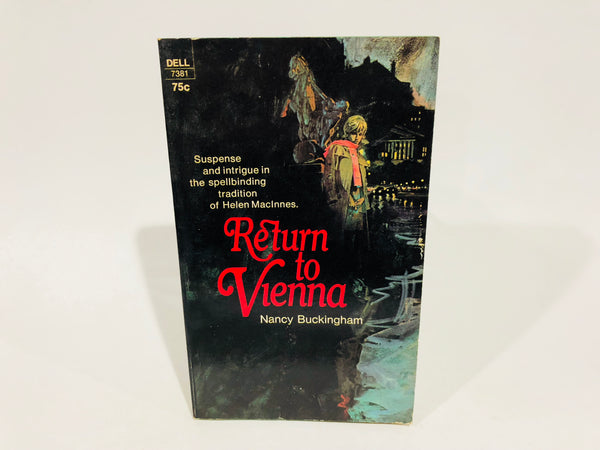 Return to Vienna by Nancy Buckingham 1971 Paperback