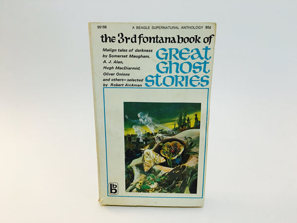 The 3rd Fontana Book of Great Ghost Stories 1971 Paperback Anthology - LaCreeperie