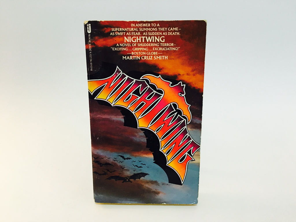 NightWing by Martin Cruz Smith 1978 Paperback - LaCreeperie