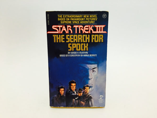 Star Trek III: The Search for Spock Film Novelization 1984 Paperback - LaCreeperie
