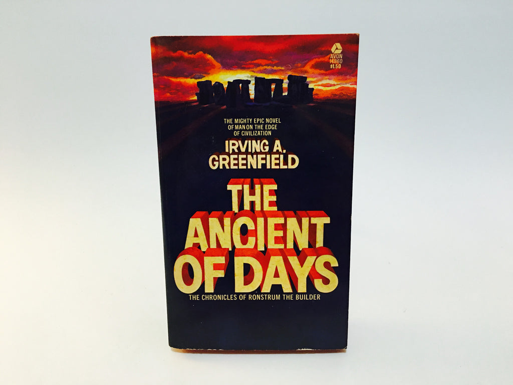 The Ancient of Days by Irving Greenfield 1973 Paperback - LaCreeperie