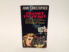 Planet In Peril by John Christopher 1959 Paperback - LaCreeperie