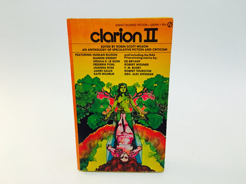 Clarion II 1972 Paperback Anthology Speculative Fiction