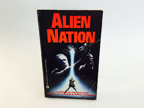 Alien Nation 1988 Paperback Film Novelization