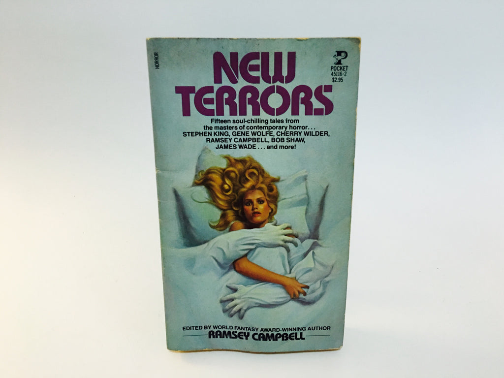 New Terrors - Ramsey Campbell 1982 Paperback Anthology - LaCreeperie