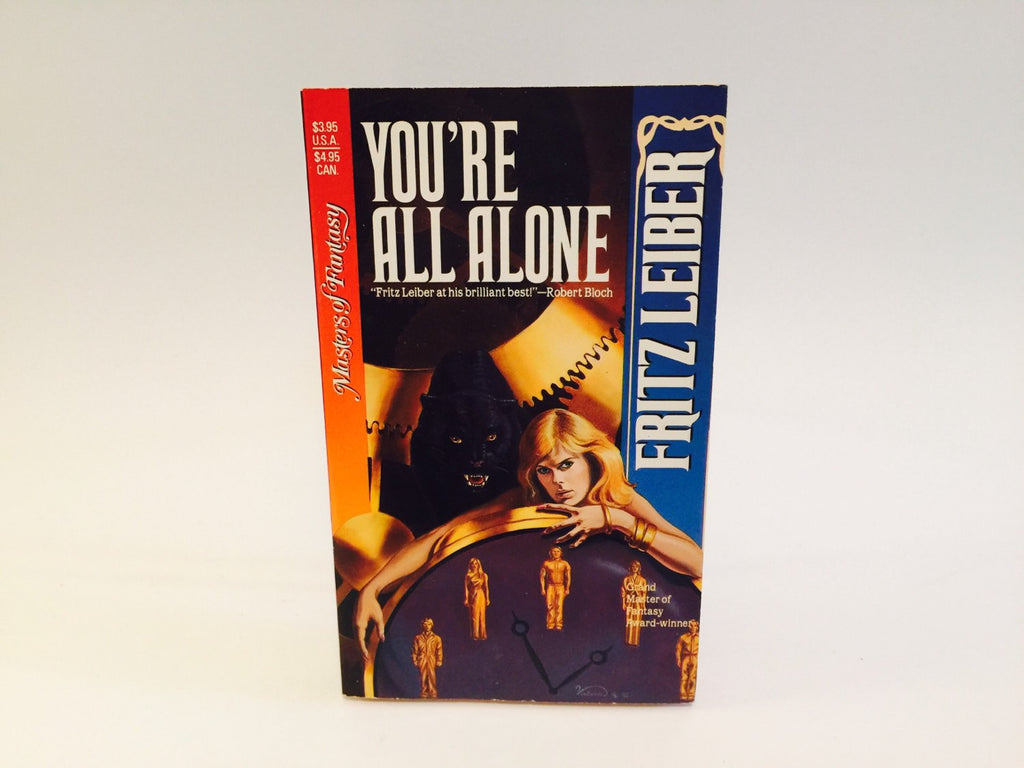 You're All Alone by Fritz Leiber 1990 Paperback Anthology - LaCreeperie