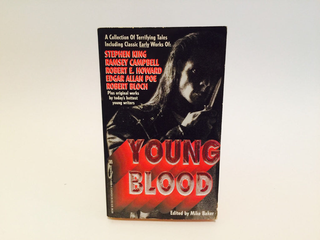 Young Blood 1994 Paperback Anthology - LaCreeperie