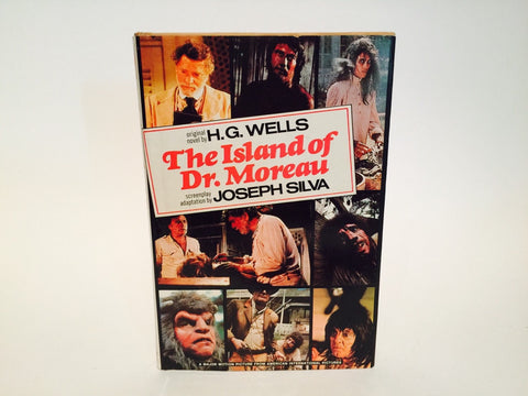 The Island of Dr. Moreau by H.G. Wells & Novelization 1977 Hardcover