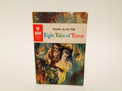 Eight Tales of Terror by Edgar Allan Poe 1965 Paperback Anthology - LaCreeperie
