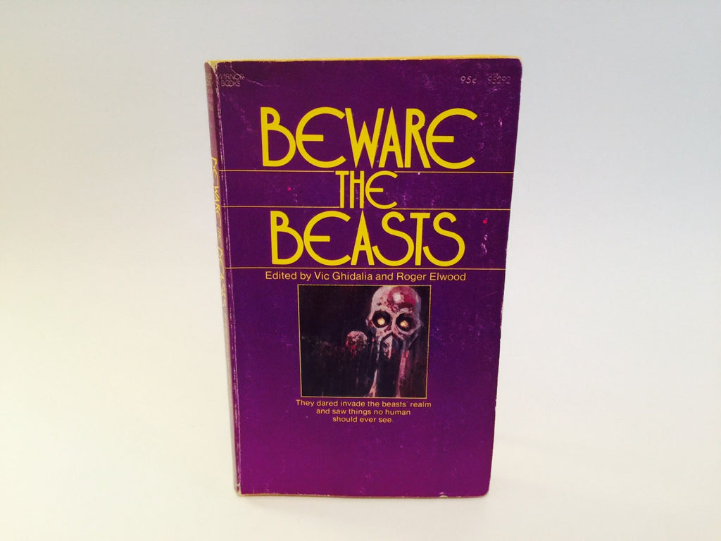 Beware the Beasts 1973 Paperback Anthology - LaCreeperie