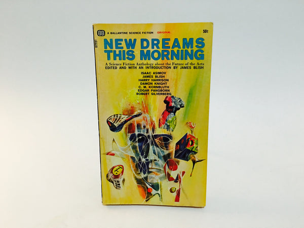 New Dreams This Morning 1966 Paperback Anthology James Blish - LaCreeperie