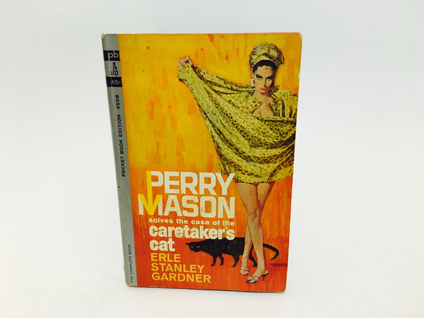 Perry Mason: The Care-Taker's Cat 1962 Paperback - LaCreeperie