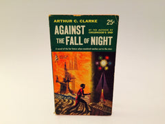Against the Fall of Night by Arthur C. Clark 1954 Paperback - LaCreeperie