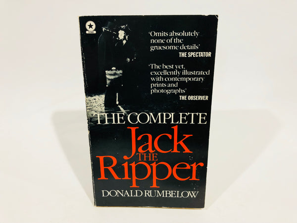 Jack the Ripper by Donald Rumbelow 1979 UK Edition Paperback