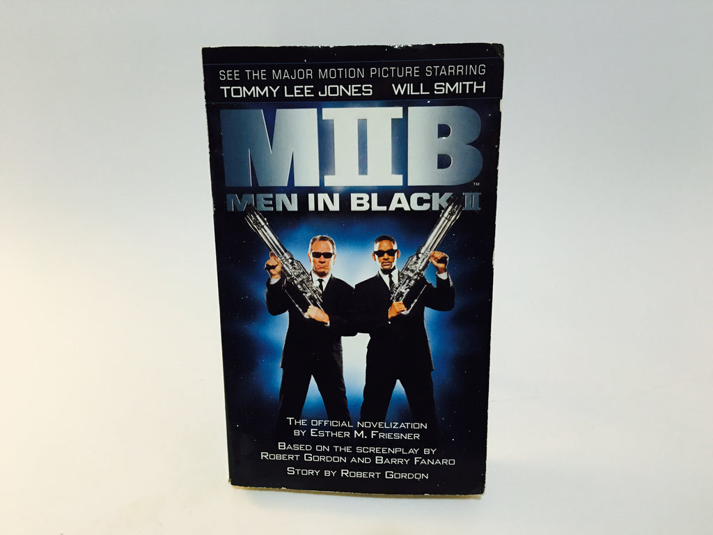 Men in Black II Film Novelization 2002 Paperback - LaCreeperie