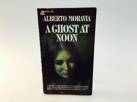 A Ghost At Noon AKA Contempt by Alberto Moravia 1960s Edition Paperback
