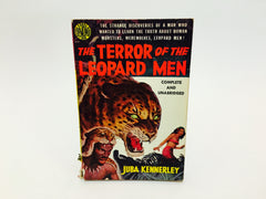The Terror of the Leopard Men by Juba Kennerley 1951 First Edition Paperback - LaCreeperie